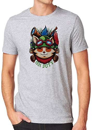 League of Legends Captain Teemo on Duty Shirt Custom Made T-shirt (XXL)