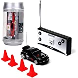 Webby Mini Coke Can Speed RC Radio Remote Controlled Micro Racing Car, Multi Color