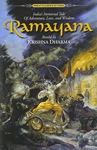 Ramayana: India's Immortal Tale of Adventure, Love and Wisdom, World's Best-Selling Edition by Krishna Dharma (2000-09-01)