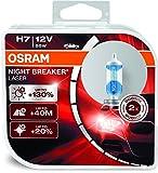 #3: Osram H7 Laser Night Breaker Duo Box 64210NBL-HCB Light (55W, 12V, 2 Bulbs)