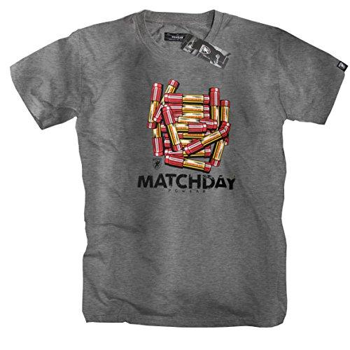 "PG Wear \""matchday\"" T-Shirt -grey- (M)"