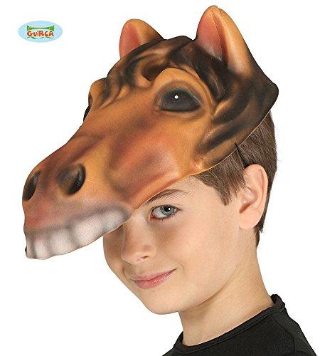ke für Erwachsene Pferdekopf Fasching Party Halloween (Party Tier Maske Für Erwachsene)