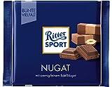 Ritter Sport 100g Nougat Chocolat, Pyrexx Pack (13x 100g)