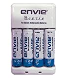#4: Envie AA Battery Charger And 4 Nos Of AA 2100 Ni-MH Rechargeable