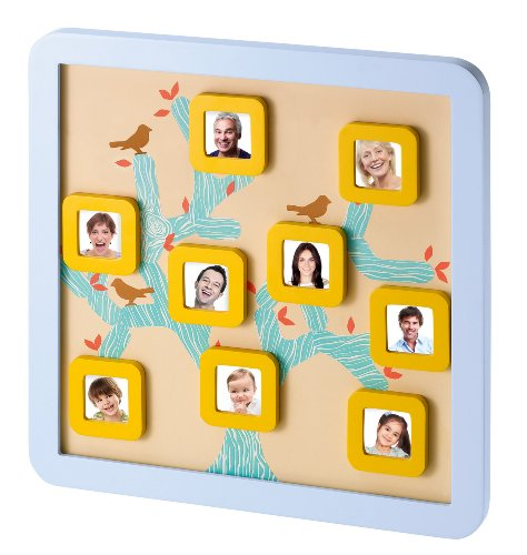 Preisvergleich Produktbild Baby Art 34120104 - Family Tree Frame, Bilderrahmen für Familienstammbaum