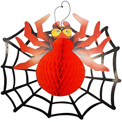 wyxhkj 1pcs Halloween Ornament Spider Styling Festival Dekor Decal (Halloween Spider Frau Kostüm)
