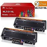 Toner Kingdom 2 Pack kompatibel Tonerpatronen für Samsung MLT-D116S MLT-D116L Xpress M2625 M2626 M2825 M2826 M2875 M2876 M2675 M2676 M2675FN M2825DW M2875FW M2825ND Drucker Schwarz 3,000 Seiten