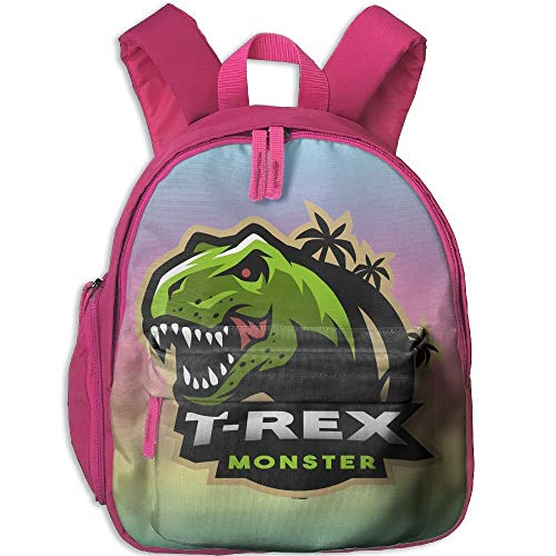 Kindergarten Boys Girls Backpack T-REX Dinosaur School Bag