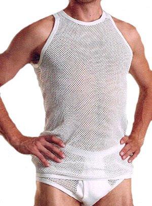 BrynjeHerren Unterhemd Weiß - Brynje Unterwäsche