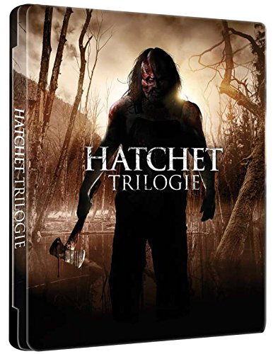 Hatchet I-III (Limited Futurepak Edition, 3-Disc Set) [Blu-ray]