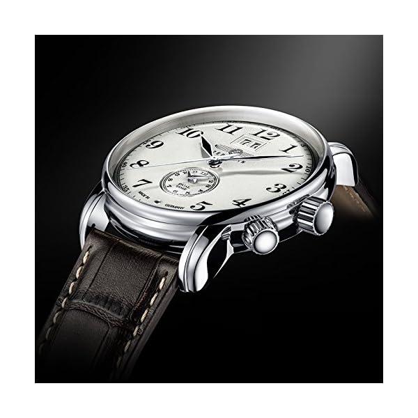 Zeppelin Reloj Analógico de Cuarzo para Hombre con Correa de Piel –