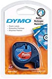DYMO S0721630 LABEL, TAPE, PLASTIC, RED, 12MMX4M