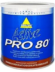 Inkospor ACTIVE Pro 80 Shake protéiné Définition Tonification et Perte de Poids Chocolat 750 g