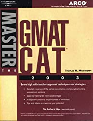 Master the GMAT CAT, 2003/e (Arco Academic Test Preparation)