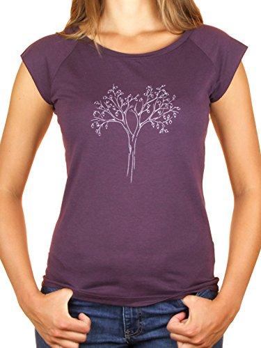 Ropa justa bambú camiseta mujer