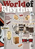 World of Rhythm (Buch/MP3-CD): 8 Sheets for Drum & Percussion Ensemble mit MP3-CD
