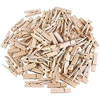 Tankerstreet 3.5cm mini mollette di legno DIY note memo clip mollette vestiti photo Paper Craft Home forniture favors-100pcs