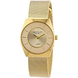 Mike Ellis New York Women's Quartz Watch L1126AGM/1 L1126AGM/1 with Metal Strap