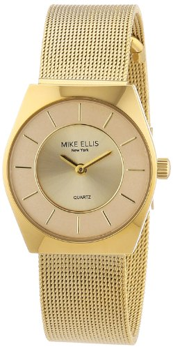 Mike Ellis New York Damen-Armbanduhr XS Analog Quarz L1126AGM/1