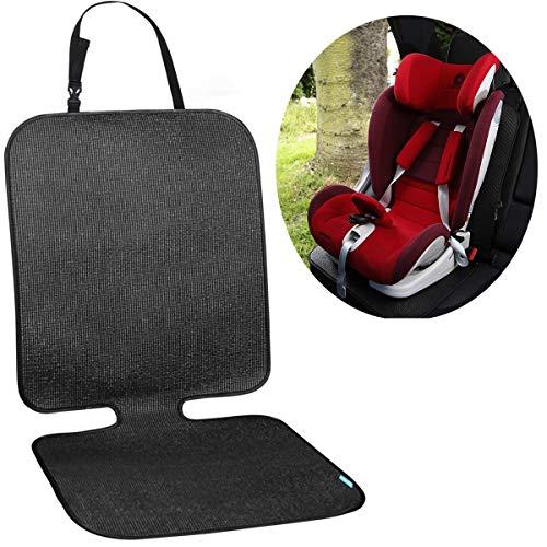 Autositzauflage Kindersitzunterlage,PVC Schutzunterlage für Universale Autos, Isofix geeignet Kindersitzunterlage, Sitzschoner zum Schutz Ihrer Autositze,Ersatzteile für Autositze