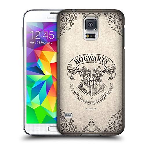 Head Case Designs Offizielle Harry Potter Hogwarts Pergament Sorcerer's Stone I Harte Rueckseiten Huelle kompatibel mit Samsung Galaxy S5 / S5 Neo -