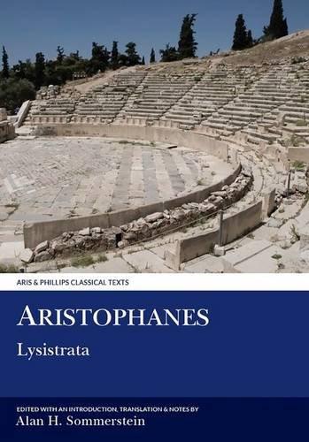 Aristophanes: Lysistrata (Aris & Phillips Classical Texts)