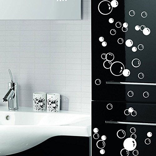 88-waterproof-floating-bubble-loose-stickers-choose-from-20-colours-bathroom-tile-window-wall-art-si