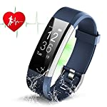 Fitness Tracker HR ZAOYI ID115 Plus Heart Rate Monitoring Activity Tracker Bluetooth Smart Bracelet Band Health Tracker Pedometer With Sleep Tracker Step Counter Calorie Burned Sedentary Reminder IP67