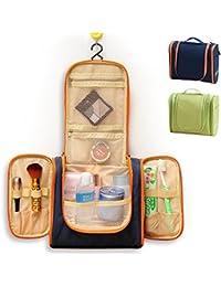 wildgrow Neceser Para Colgar De Compartimiento de multi Kits de viaje para Hombres, Mujeres Azul azul oscuro