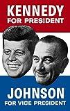 John Parrot/Stocktrek Images – Vintage election poster showing the 1960 Democratic nominees. Photo Print (56,90 x 90,42 cm)