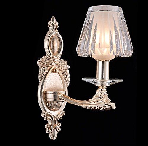 YU-K Kreative Kronleuchter aus Kristall im Wohnzimmer Schlafzimmer Villa Halle Flur Leuchten Wandleuchten Wandleuchten - Halle Kristall-wandleuchte