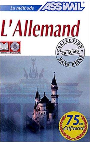 L'Allemand (1 livre + coffret de 4
