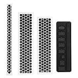 MoKo Xbox One S staubdicht Kit, schmutzabweisend Schutzumschlag Schmutzaufkleber Netzgitter Filter Staubstecker Jack Stopper for Xbox One S Gaming Konsole?Weiß