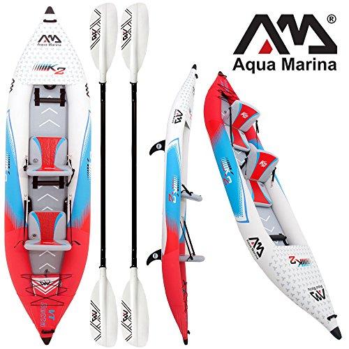 "Aqua Marina Kajak BETTA VT 13'6"" TWO Combo 1 / aufblasbares Kajak / 2 Personen"