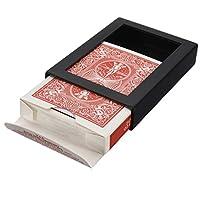 Trucos de cartas - SODIAL(R) Trucos de cartas Truco de magia de carta desaparecer Truco de magia de carta para adultos de SODIAL(R)