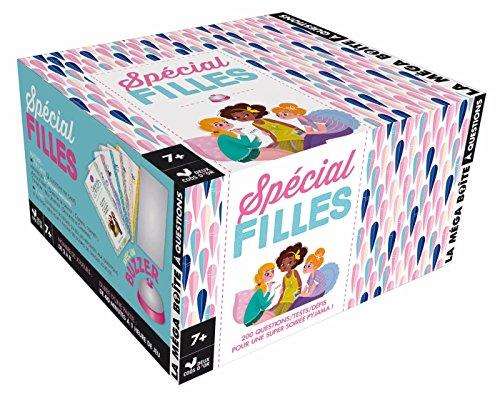 La mega boite à questions - Spécial filles - boite avec buzzer