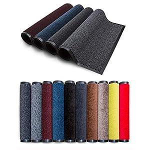 Carpet Diem Rio Schmutzfangmatte – 5 Größen – 10 Farben Fußmatte mit äußerst starker Schmutz und Feuchtigkeitsaufnahme – Sauberlaufmatte