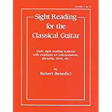 Sight Reading for the Classical Guitar: Level 1 to 3