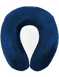 daydream: Design Reise-Nackenkissen (mit Memory Foam), blau