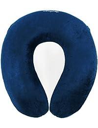 Daydream - Almohada de viaje con espuma viscoelástica, azul