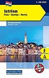 Istrien: Nr. 01, Outdoorkarte Kroatien, 1:75 000, Mit kostenlosem Download für Smartphone (Kümmerly+Frey Outdoorkarten Kroatien) - Kümmerly+Frey