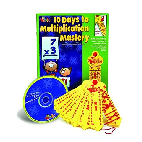 Learning Wrap-ups 10 Days to Multiplication Mastery Kit with CD