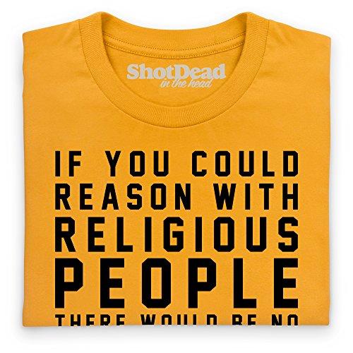 If You Could Reason T-Shirt, Damen Gelb