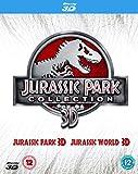 Double Pack: Jurassic Park 3D + Jurassic World 3D [Blu-ray] [2015] [Region Free]