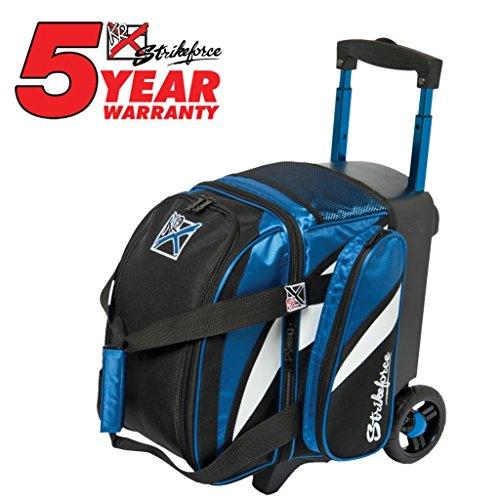 KR Cruiser Single Roller Bowling Bag Royal/Weiß/Schwarz, blau