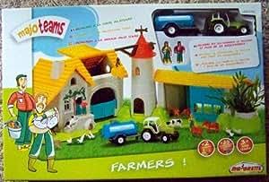 Majorette  - Vehicule miniature - 200088 00 - Majo Teams La Ferme