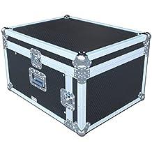 Spider 11U X 4U Slanted mezclador rack Flight Case