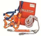 Absturzsicherung Dach- Wartungs Koffer Fallschutz Set mit 10 m Kernmatel Statikseil 11,9 mm