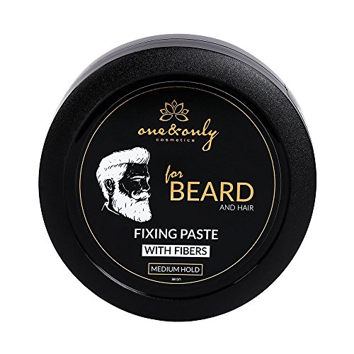 One&Only Fixing Paste With Fibres, Medium Hold for beard and hair, 80 g, Styling-Creme mit...