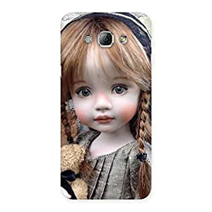 Girl Angel Multicolor Back Case Cover for Galaxy A8